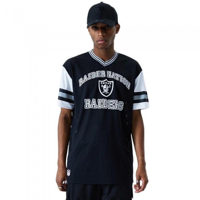 [해외]뉴에라 NFL Stripe Oversized Oakland Raiders Black