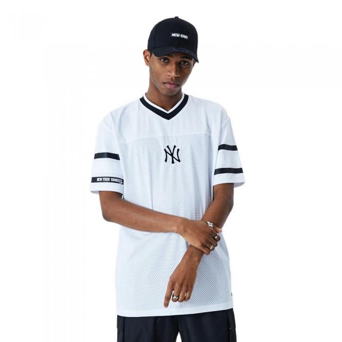 [해외]뉴에라 Jacquard Oversized Mesh New York Yankees White