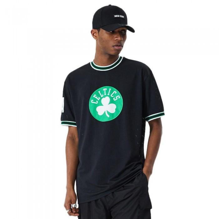 [해외]뉴에라 NBA Oversized Applique Boston Celtics Black
