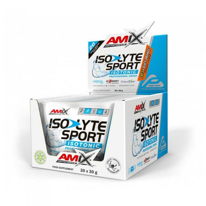 [해외]AMIX Isolyte Sport Drink 30gr x 20 Units 137520414