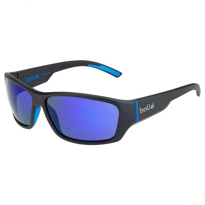 [해외]볼레 Ibex Polarized 6136836871 Matt Black Blue
