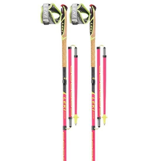 [해외]레키 Micro Trail Pro 6137316967 Neon Pink / Grey / Neon Yellow