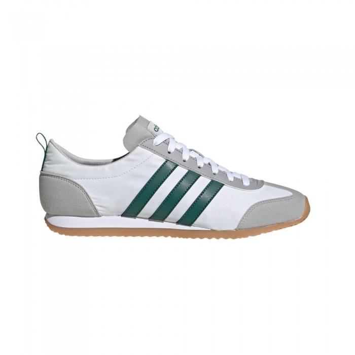 [해외]아디다스 Vs Jog Man6137669153 Ftwr White / Collegiate Green / Grey Two