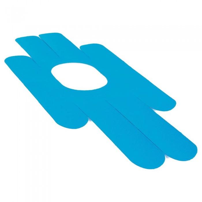 [해외]GYMSTICK Kinesiology Tape Pre-Cut Knee 7137686130 Blue