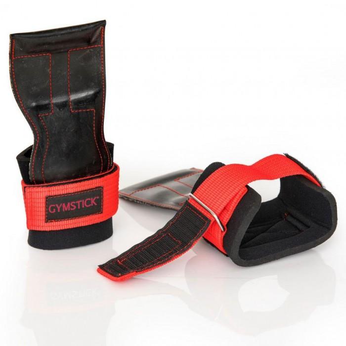 [해외]GYMSTICK Lifting Grips 7137685778 Black Red