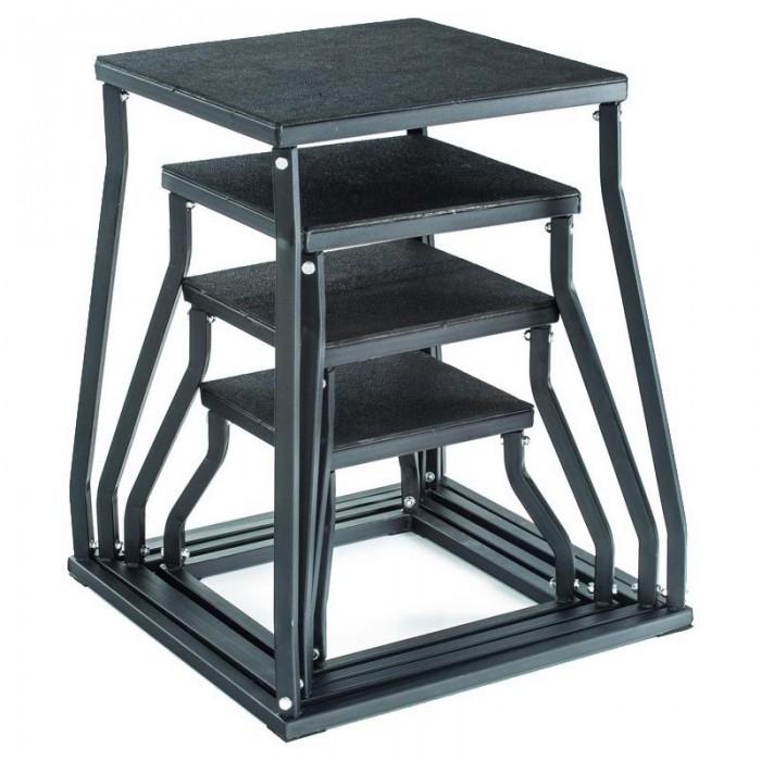 [해외]GYMSTICK Plyobox 60 cm 7137686004 Black