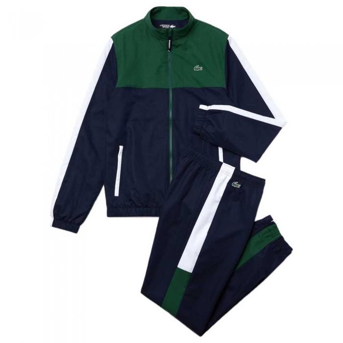 [해외]라코스테 Sport Lightweight Colourblock 7137648614 Green / Navy Blue / White