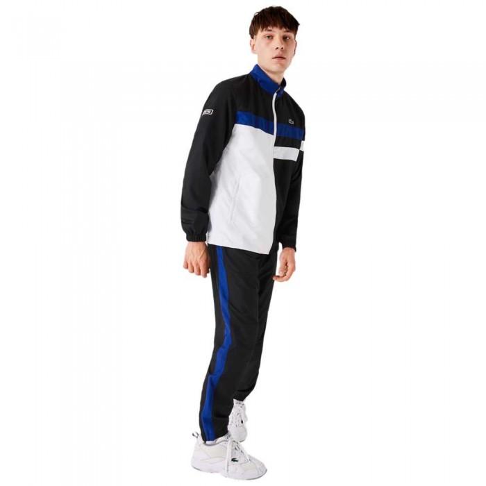 [해외]라코스테 Sport Lightweight Colourblock 7137685364 Black / White / Blue / White