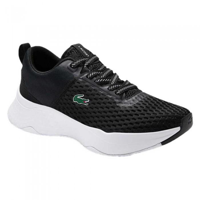 [해외]라코스테 Court-Drive Textile 12137648474 Black / White