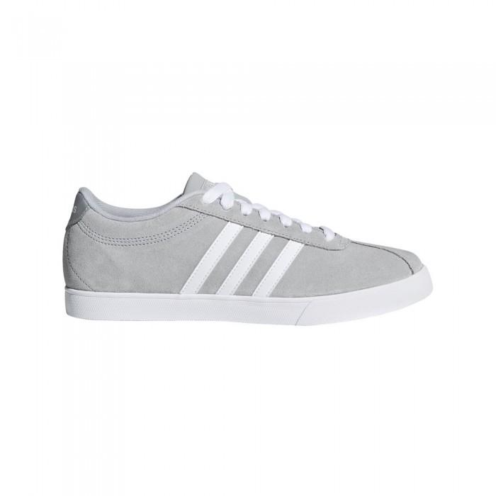 [해외]아디다스 Courtset 12137668018 Grey One / Ftwr White / Silver Metalic