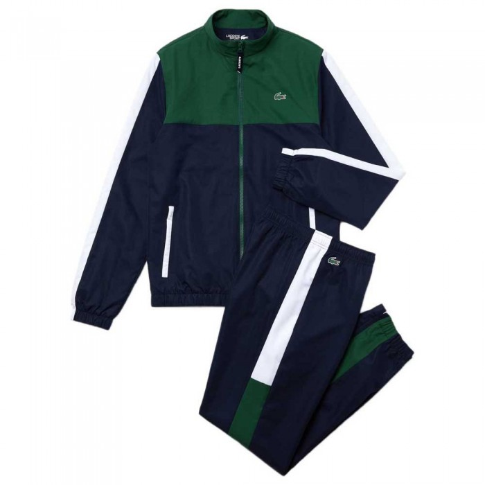 [해외]라코스테 Sport Lightweight Colourblock 12137648614 Green / Navy Blue / White