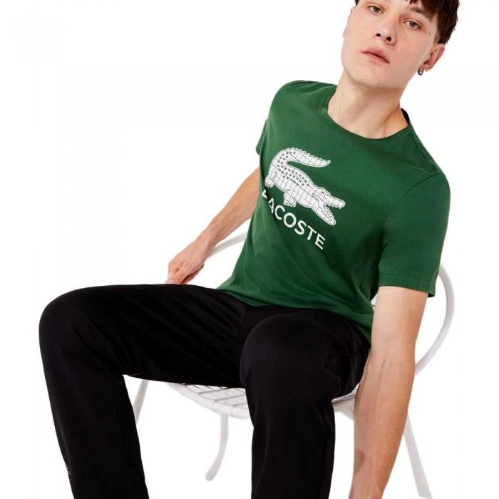 [해외]라코스테 Sport Crocodile Print Breathable 137685310 Green / White