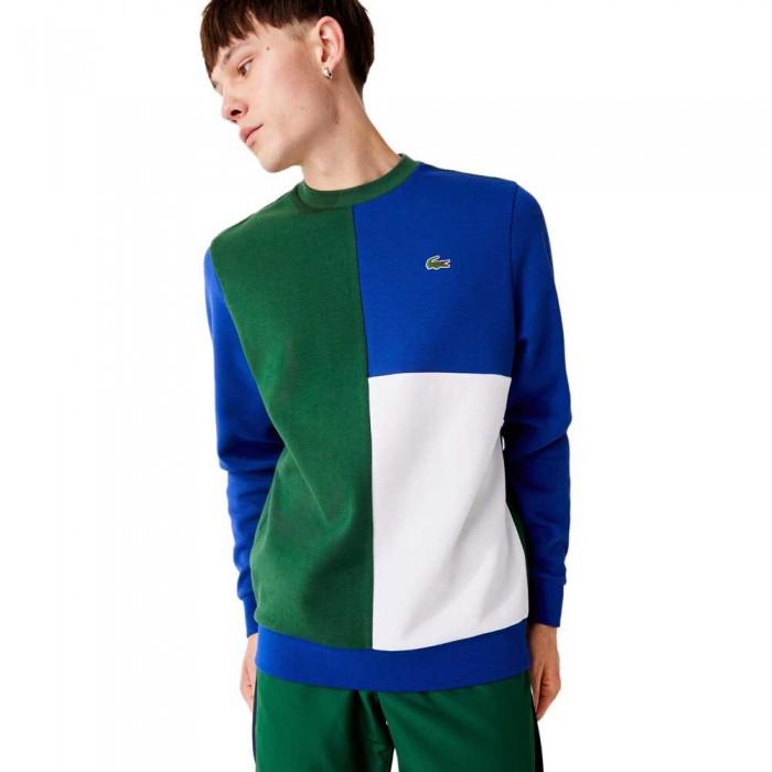 [해외]라코스테 Sport Two Ply Colourblock Cotton Blend 137685244 Green / Blue / White