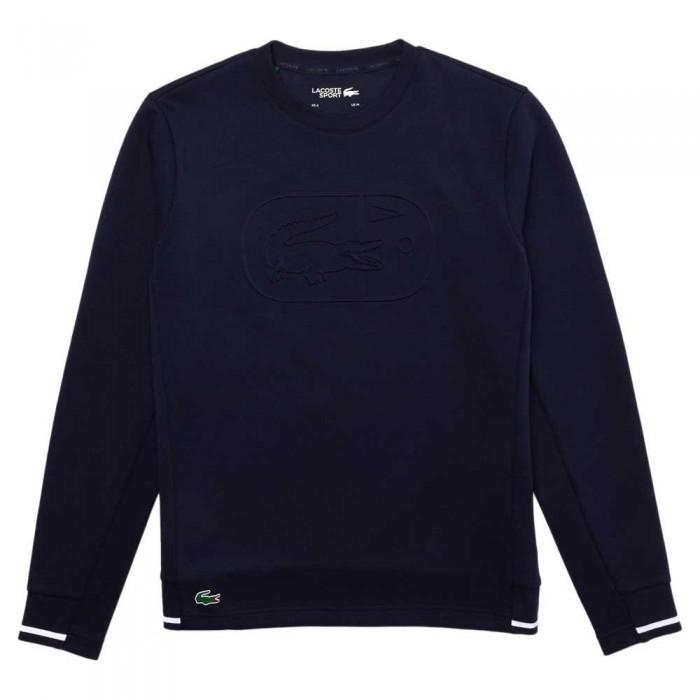 [해외]라코스테 Sport Two Ply Crew Cotton Blend 137685253 Navy Blue