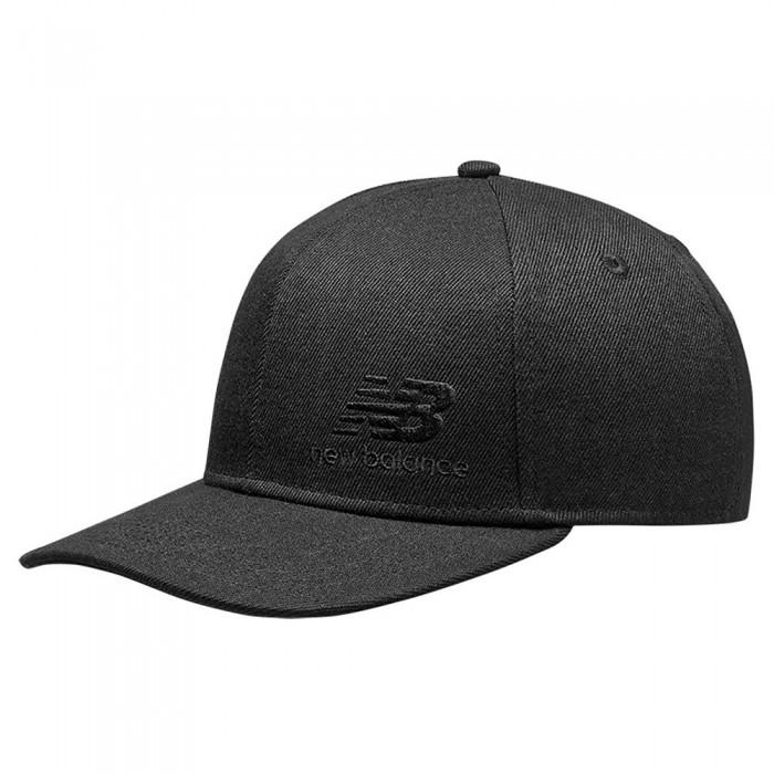 [해외]뉴발란스 Team Stacked Snapback 137616304 Black