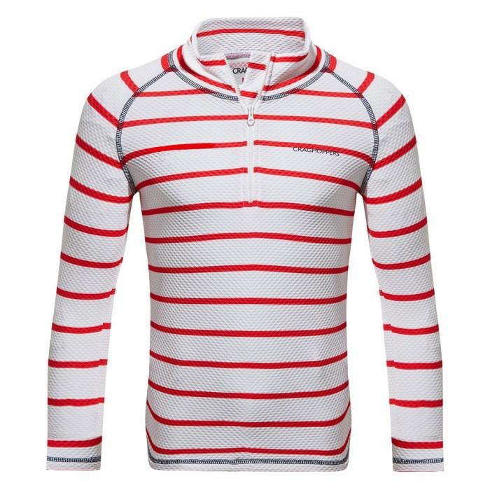 [해외]크래그호퍼 NosiLife Mozelle Rash Vest 137444231 Rio Red Stripe