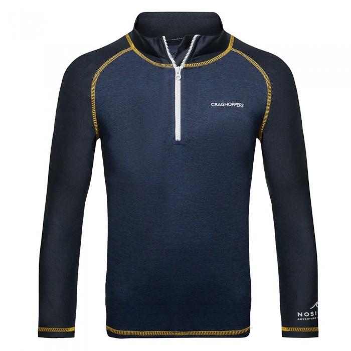 [해외]크래그호퍼 NosiLife Mozelle Rash Vest 137444233 Blue Navy Marl / Lapis Blue