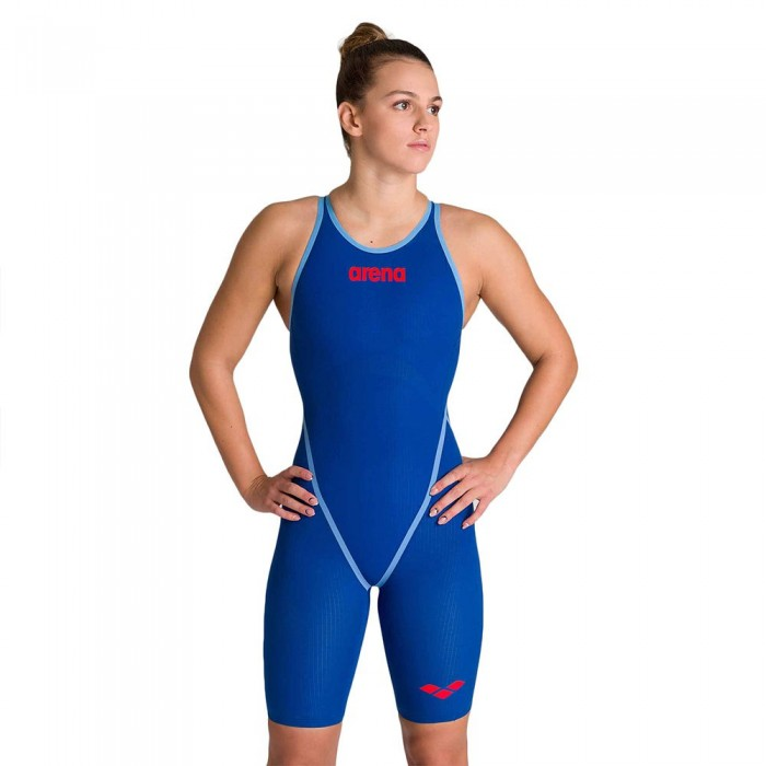 [해외]아레나 Powerskin Carbon Core FX Open Back Competition Swimsuit 6137525844 Ocean Blue