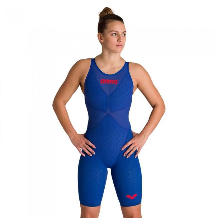 [해외]아레나 Powerskin Carbon Glide Open Back Competition Swimsuit 6137525849 Ocean Blue