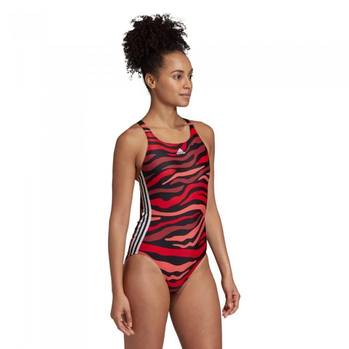 [해외]아디다스 Sh3.Roild3 Stripes S 6137667609 Legacy Red / Black / Semi Flash Red