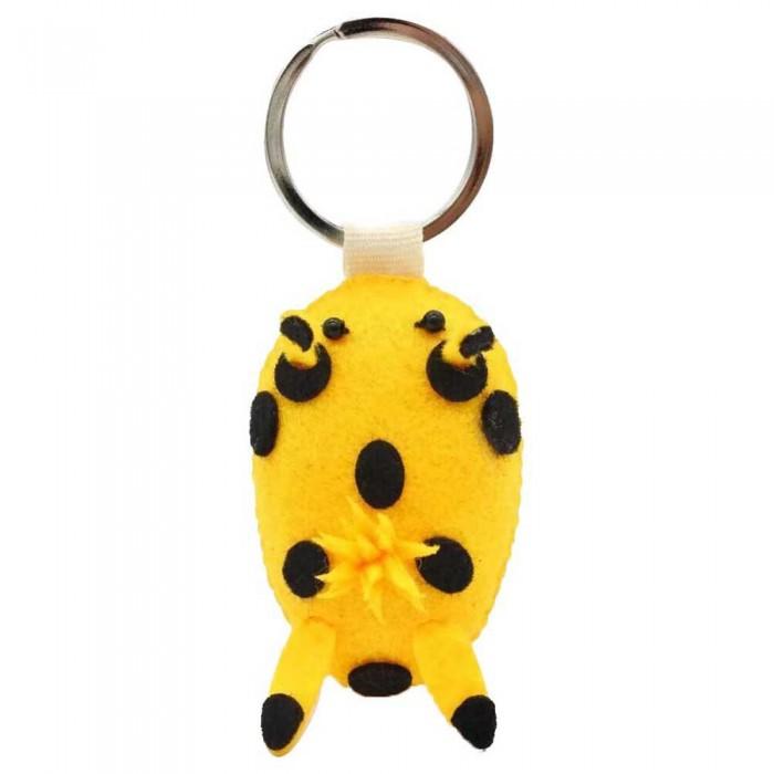 [해외]DIVE INSPIRE Pikka Nudibranch Keychain 10137681508 Yellow / Black
