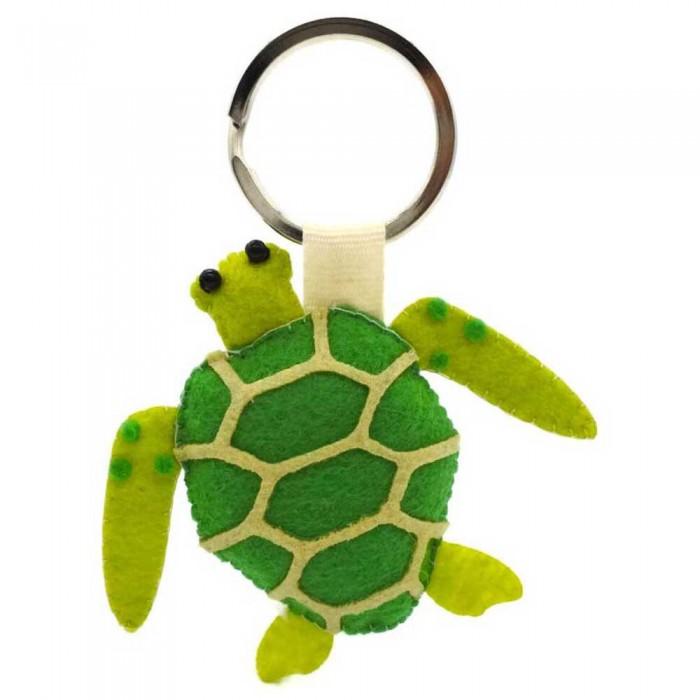 [해외]DIVE INSPIRE Sunny Green Sea Turtle Keychain 10137681510 Green