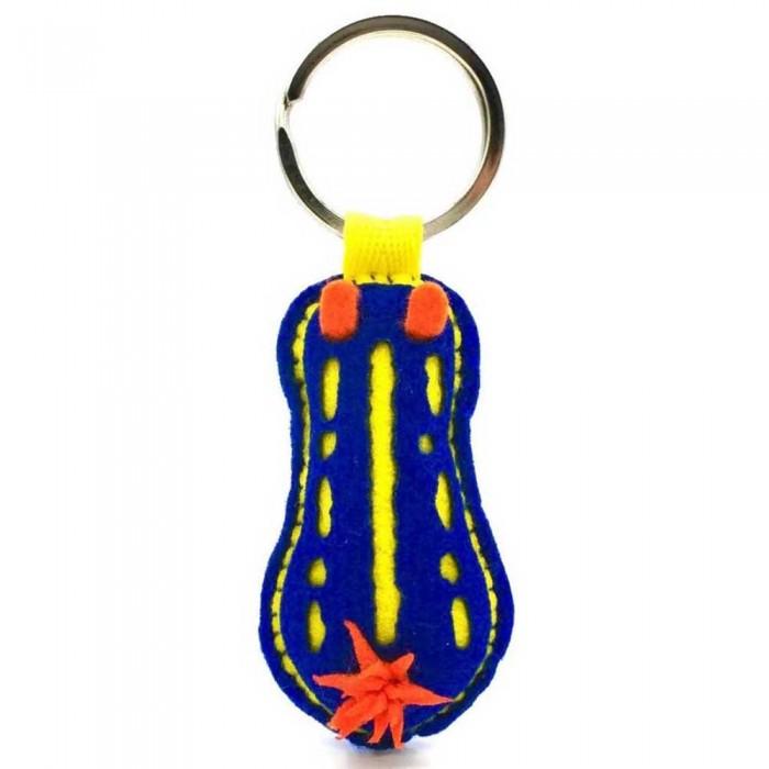 [해외]DIVE INSPIRE Bruno Nudibranch Keychain 10137681511 Blue / Yellow / Orange