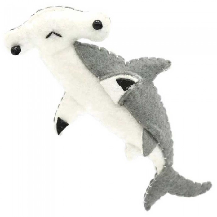 [해외]DIVE INSPIRE Mocha Hammerhead Shark Magnet 10137681523 Grey / White
