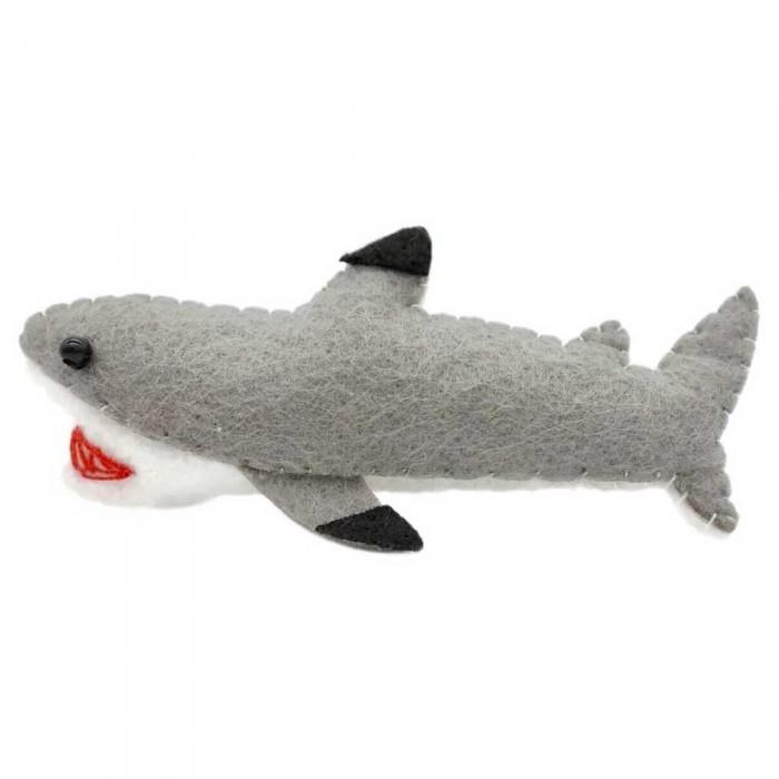 [해외]DIVE INSPIRE Bruce Black Tip Reef Shark Magnet 10137681526 Grey / White / Black