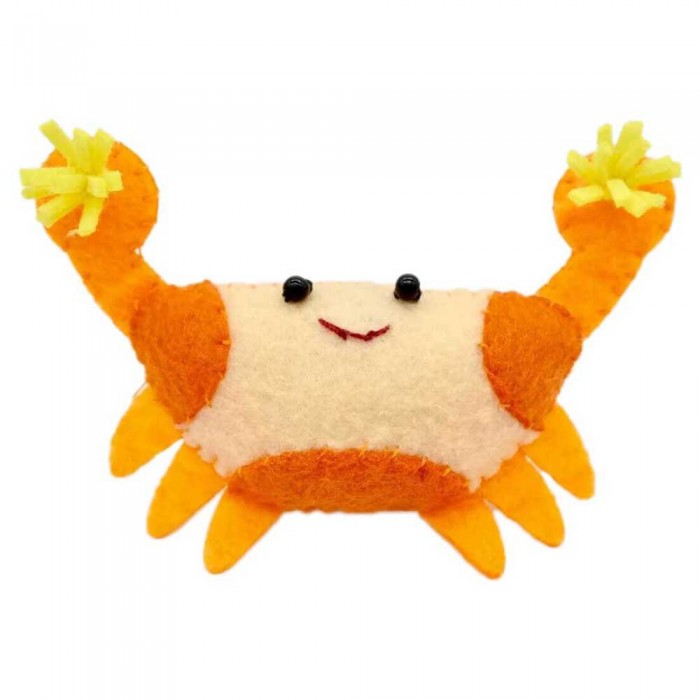 [해외]DIVE INSPIRE Pomme Pom Pom Crab Magnet 10137681532 Orange / Yellow