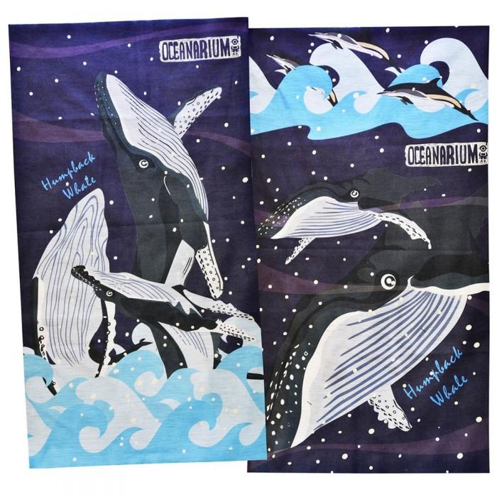 [해외]OCEANARIUM Humpback Whale 10137681009 Blue / Black / White / Purple