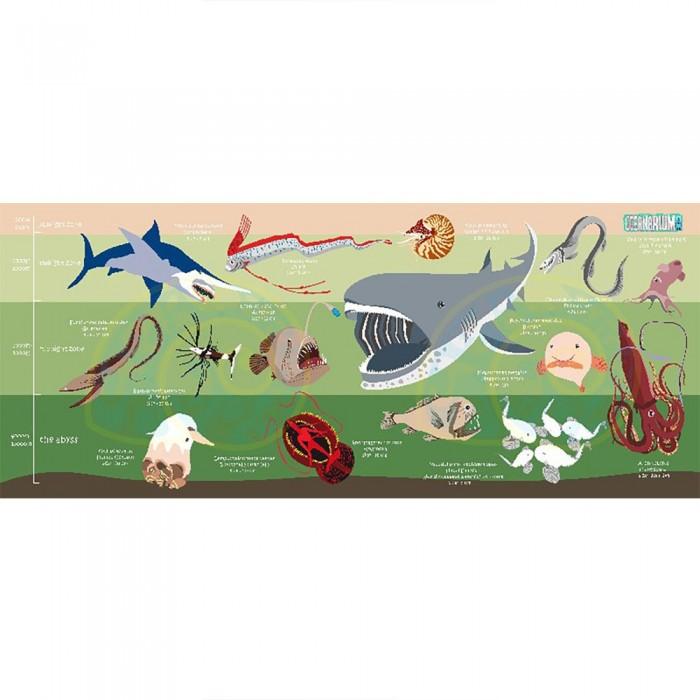 [해외]OCEANARIUM Deep Sea Creatures M 10137681031 Green / Multicolor