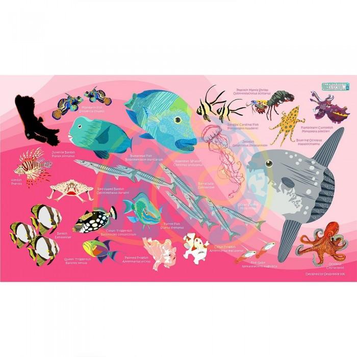 [해외]OCEANARIUM Sunfish L 10137681035 Pink / Multicolor