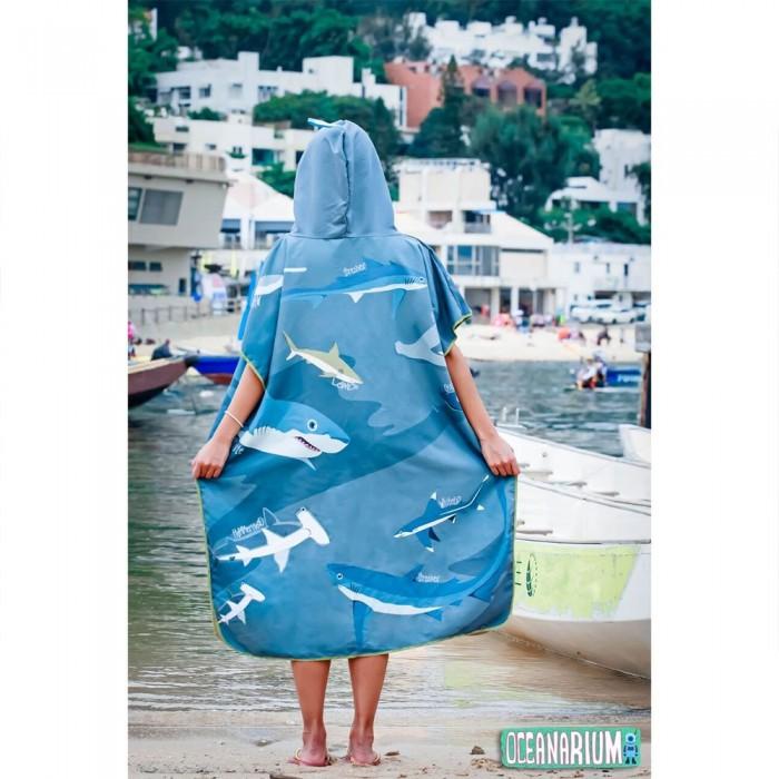 [해외]OCEANARIUM Sharks Cloak 10137681057 Blue / White