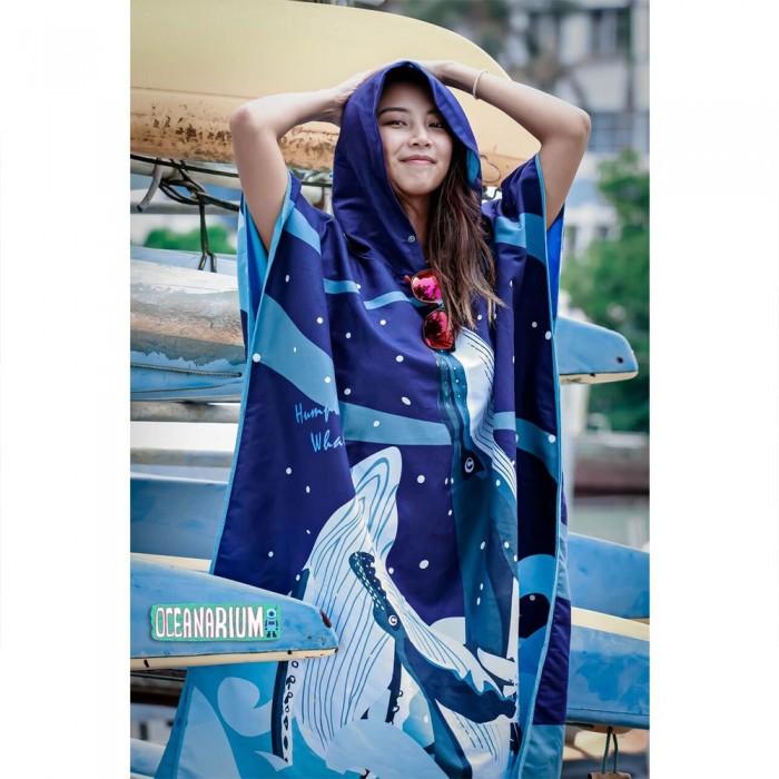 [해외]OCEANARIUM Whales Cloak 10137681058 Dark Blue / Blue