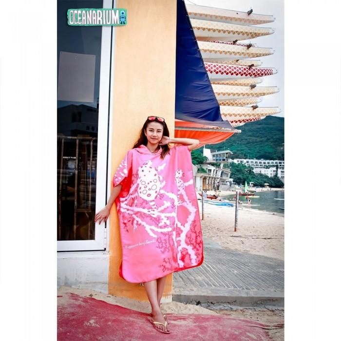[해외]OCEANARIUM Pigmy Horse Cloak 10137681059 Pink / White