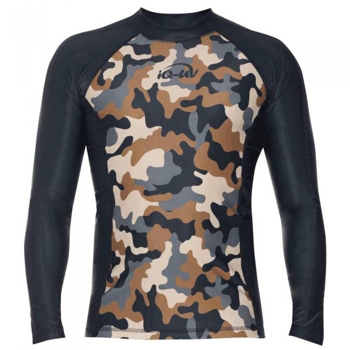 [해외]iQ-Company UV 230 Shirt Slim Fit L/S 10136789908 Olive