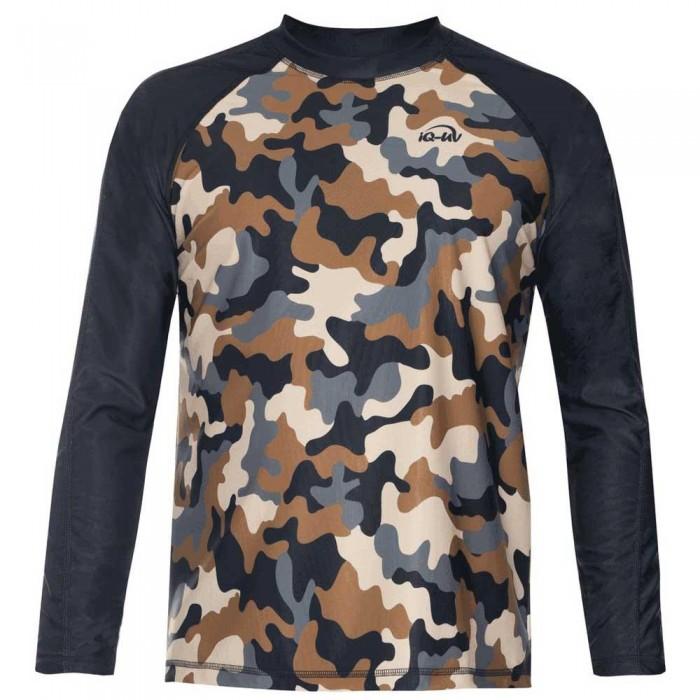 [해외]iQ-Company UV 230 Shirt Loose Fit L/S 10136789916 Olive