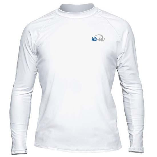 [해외]iQ-Company UV 300 Shirt Loose Fit L/S 10136789922 White