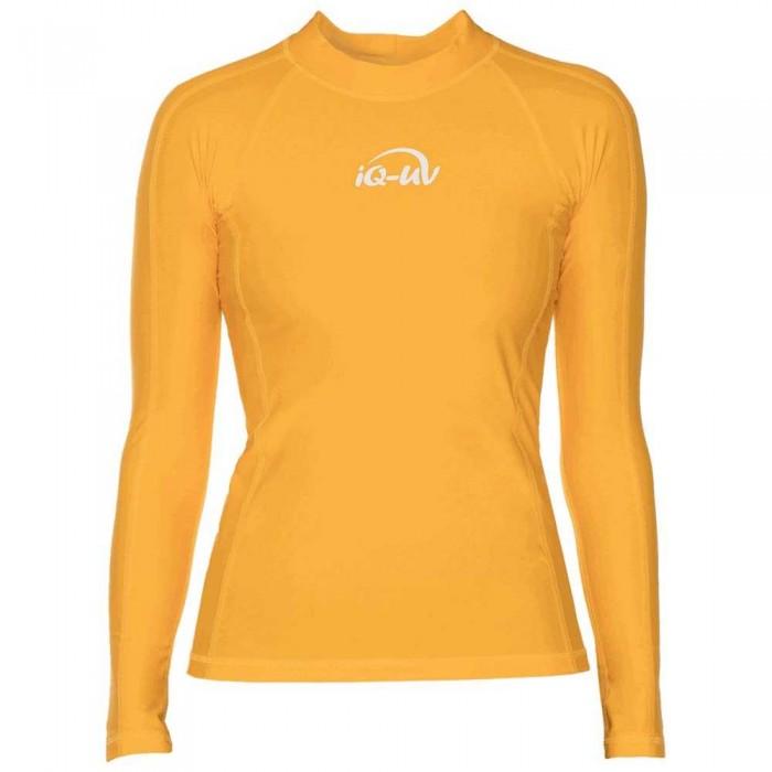 [해외]iQ-Company UV 300 Shirt Slim Fit L/S 10136789925 Yellow