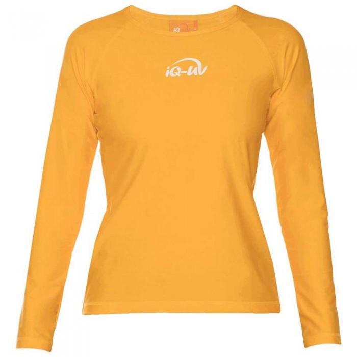 [해외]iQ-Company UV 300 Shirt Loose Fit L/S 10136789933 Yellow