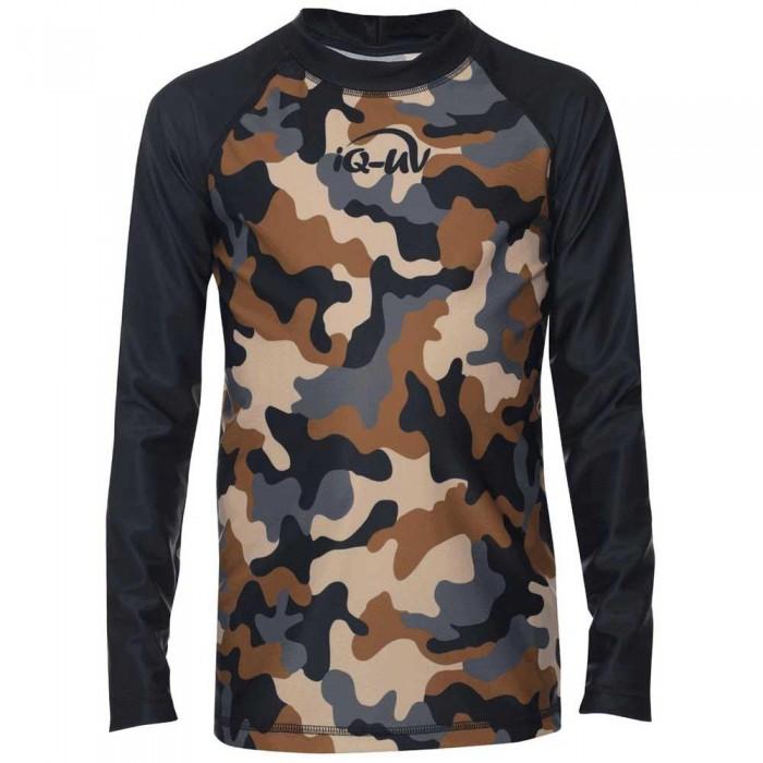 [해외]iQ-Company UV 230 Shirt Youngster L/S 10136789949 Olive