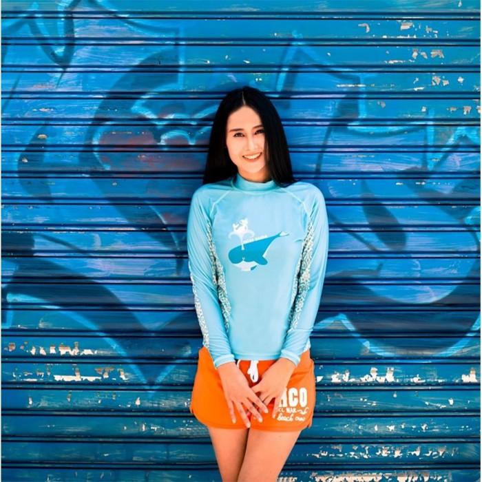 [해외]OCEANARIUM Miss Scuba 10137681055 Sky Blue / White