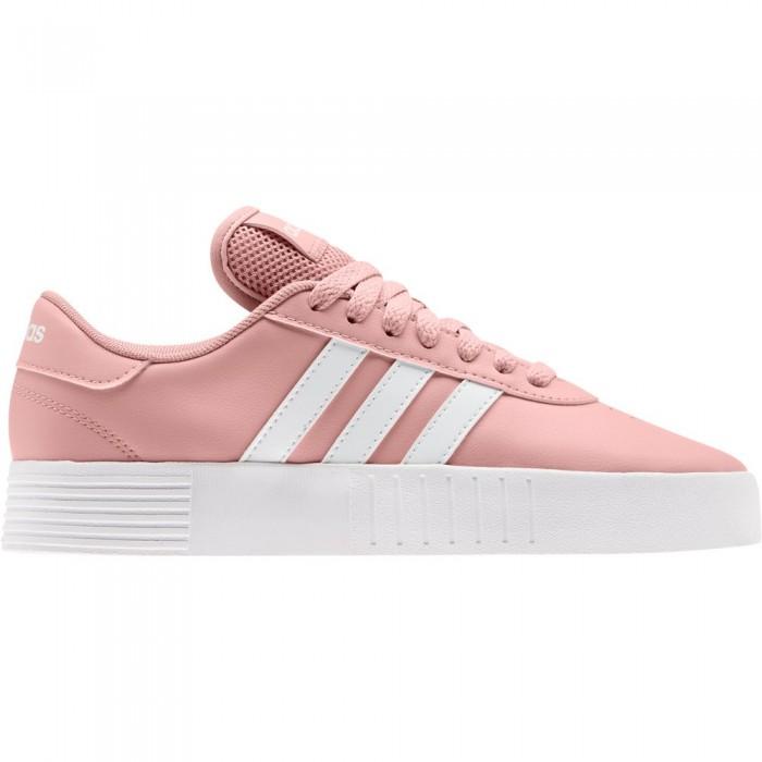 [해외]아디다스 Court Bold Woman14137669176 Pink Spirit / Ftwr White / Light Granite