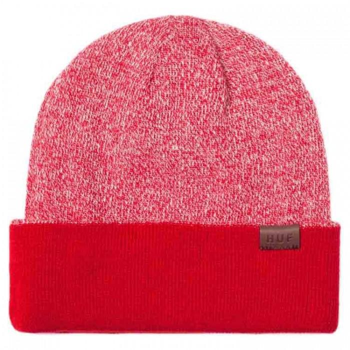 [해외]허프 Reversible Mixed Yarn Beanie 14136630034 Red