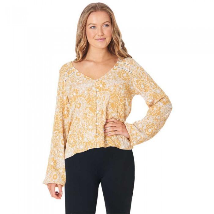 [해외]립컬 Golden Days Floral Top 14137683682 Yellow