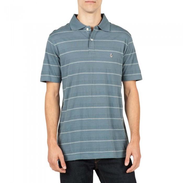 [해외]볼컴 Wowzer Stripe Polo 14136411888 Ash Blue