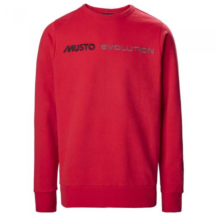 [해외]무스토 Evolution Logo Crew 137651850 True Red