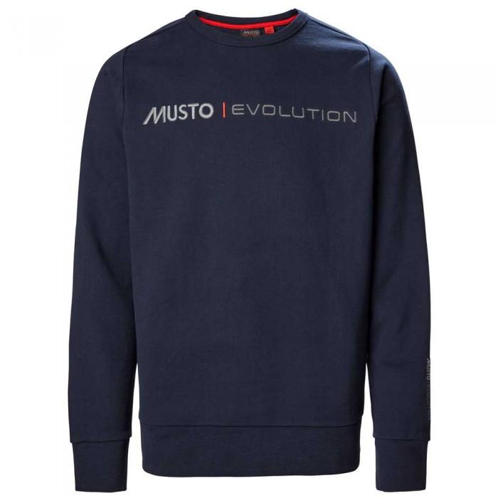 [해외]무스토 Evolution Logo Crew 137651851 True Navy