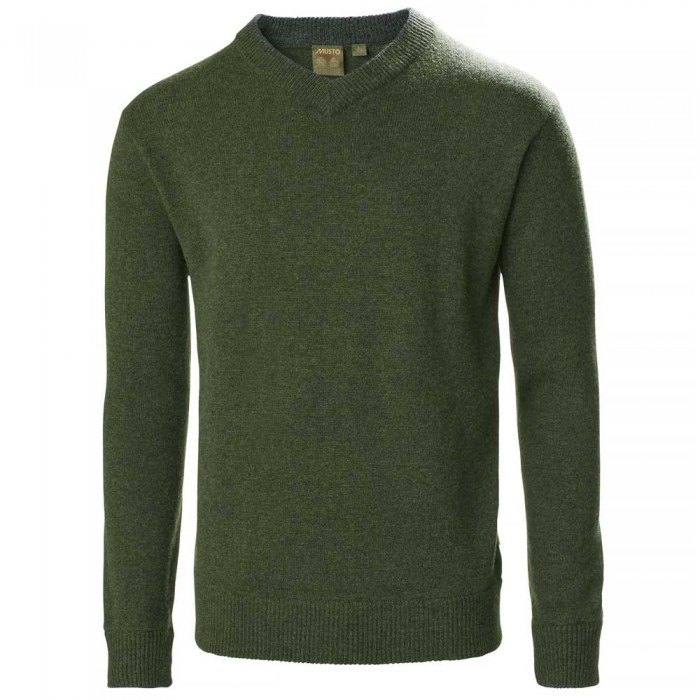 [해외]무스토 Country V Knit 137651964 Rifle Green